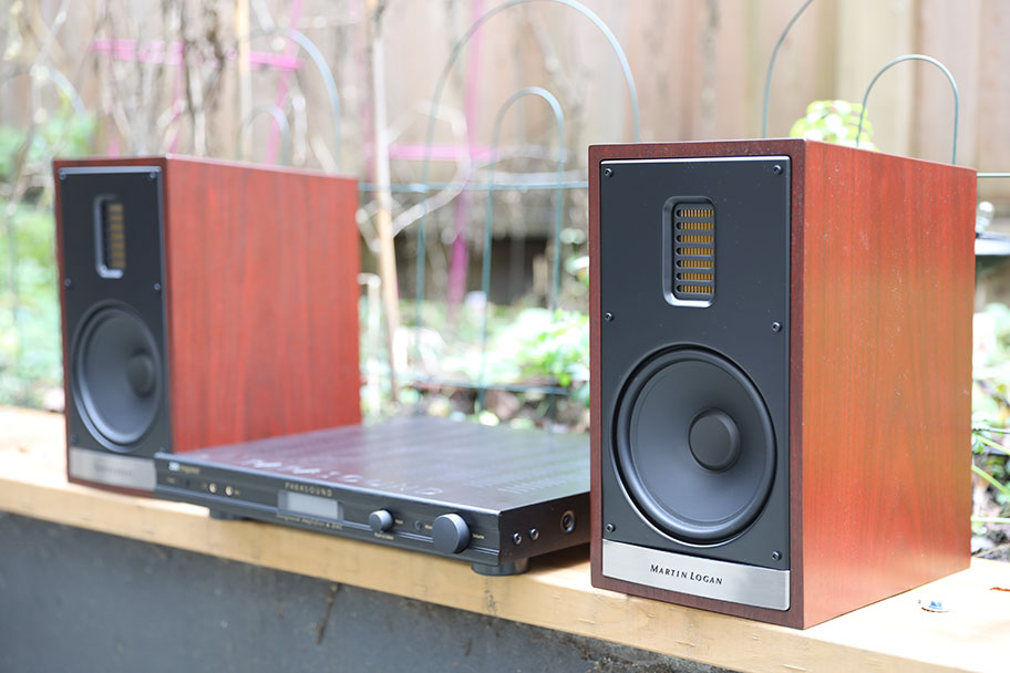 MartinLogan Motion 35XTi Bookshelf Speakers | The Master Switch