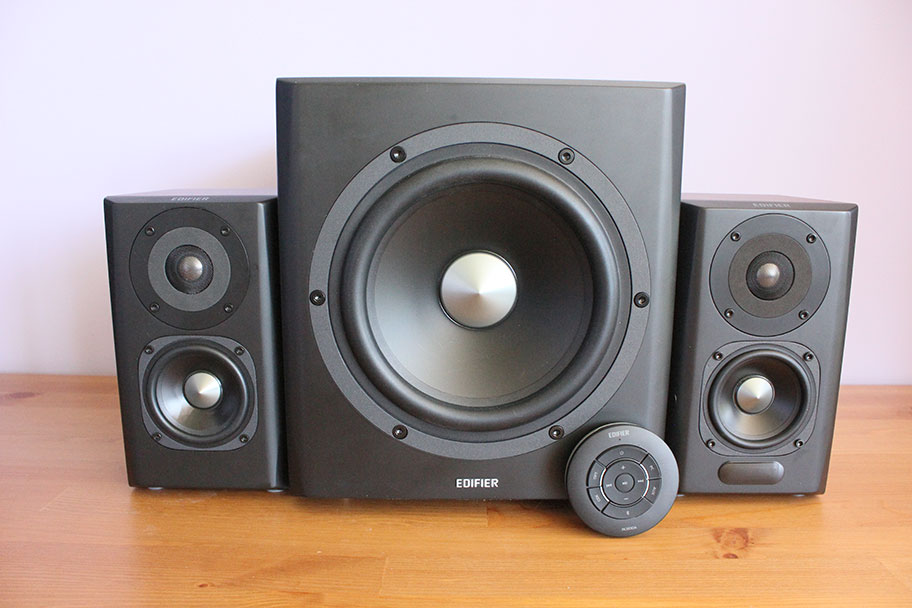 Edifier computer speakers | The Master Switch