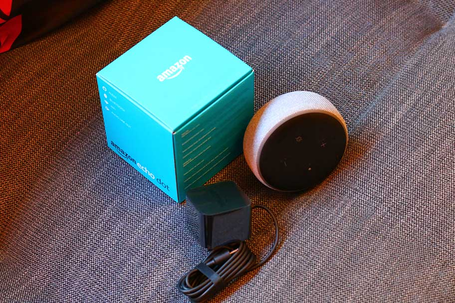 The packaging for the Echo Dot is surprisingly good for $50 | The Master Switch ​