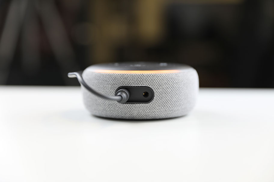 The Echo Dot (3rd Gen) has a new 3.5mm output for connecting speakers | The Master Switch