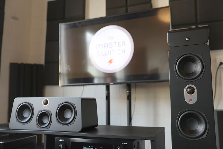 Aperion Audio Novus home theater system | The Master Switch