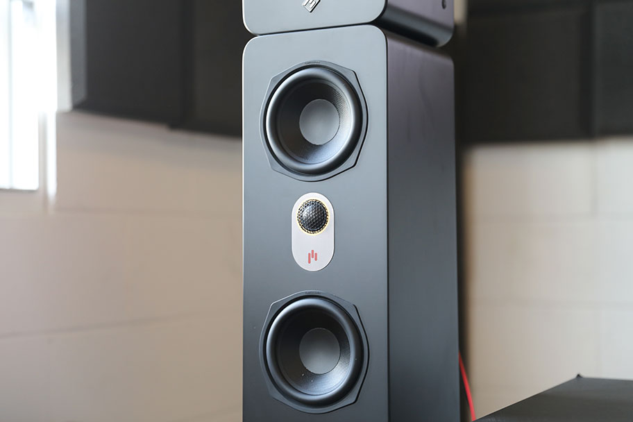 Aperion Audio Novus floorstanding speaker  | The Master Switch