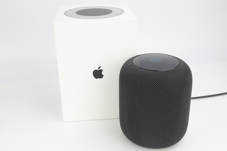 The HomePod comes with minimal packaging and no accessories | The Master Switch