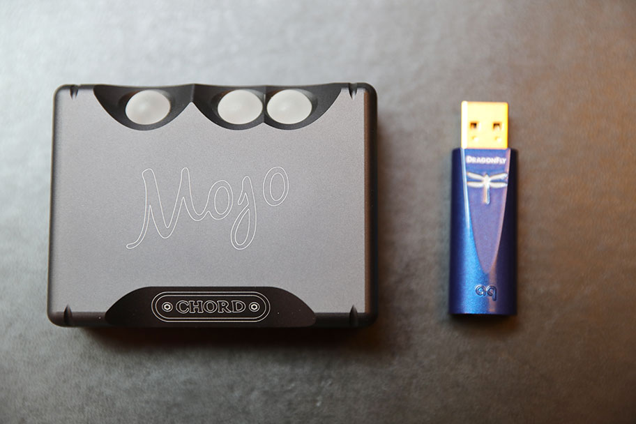 AudioQuest Dragonfly Cobalt and Chord Mojo headphone amp and DAC | The Master Switch
