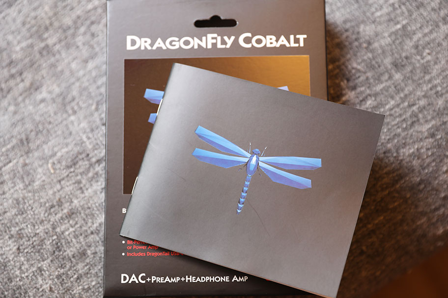 AudioQuest Dragonfly Cobalt headphone amp and DAC | The Master Switch