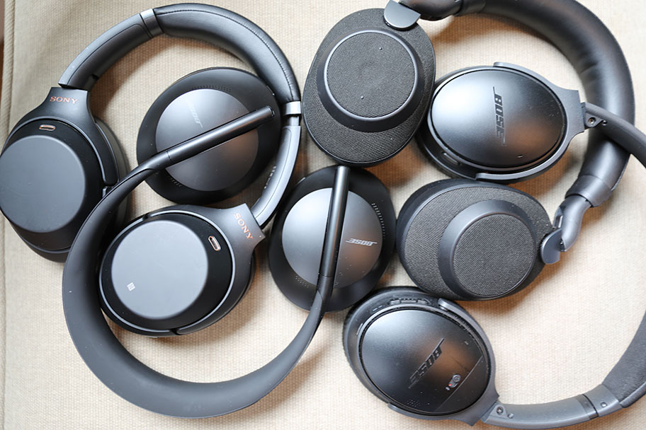Wireless noise-canceling headphones | The Master Switch