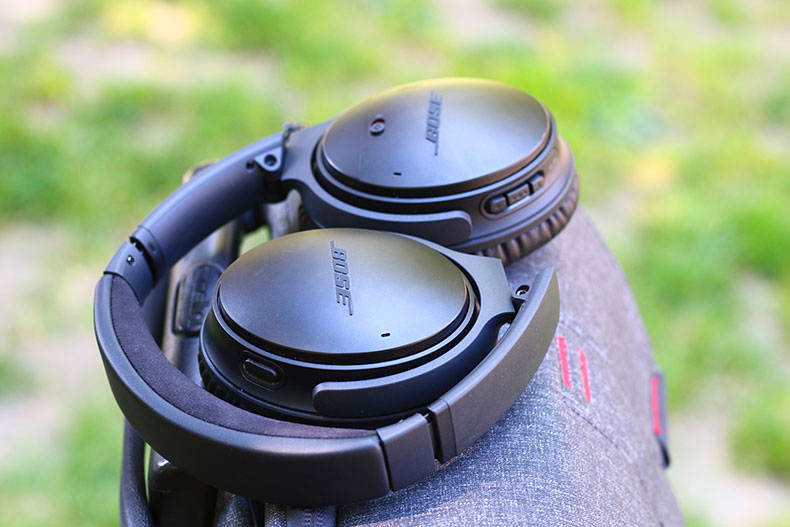 The headphones are lightweight, and easily fold up | The Master Switch