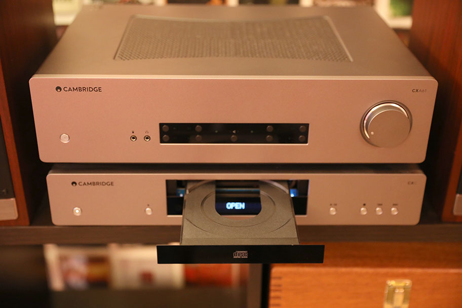 Cambridge Audio CXA61 Stereo Amp and CXC CD Player | The Master Switch