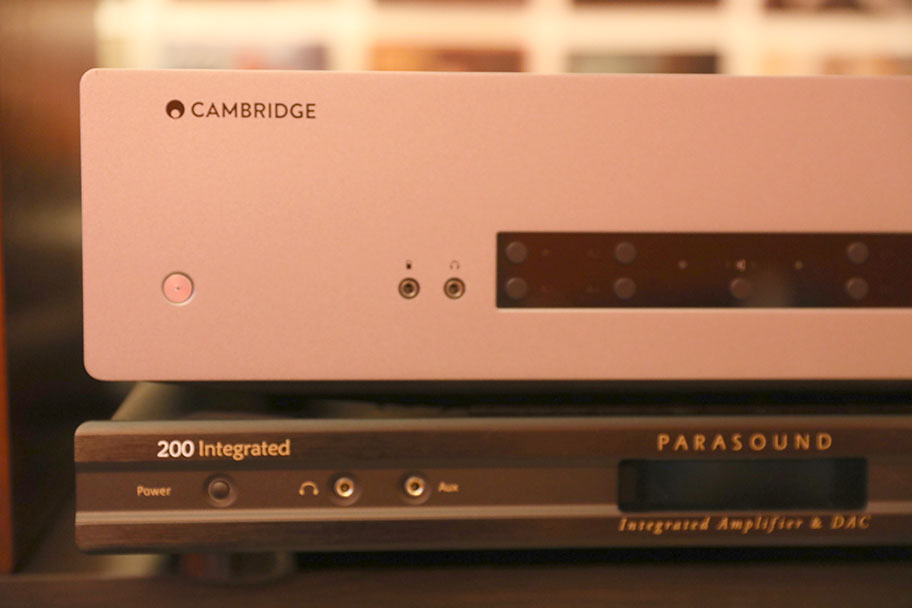 Cambridge Audio CXA61 and Parasound NC 200 Int Stereo Amps | The Master Switch