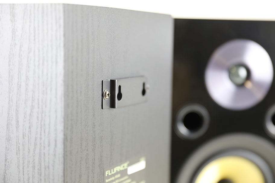 It's easy to mount the speakers on a wall using these brackets | The Master Switch