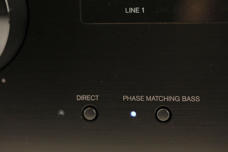 Onkyo A-9110 Stereo Amp controls | The Master Switch