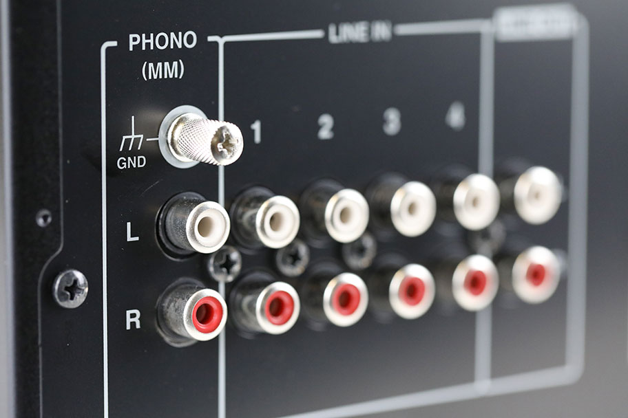 ​Onkyo A-9110 Stereo Amp Inputs | The Master Switch