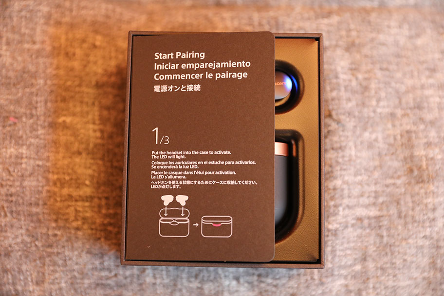 Sony WF-1000XM3 true wireless earbuds packaging | The Master Switch