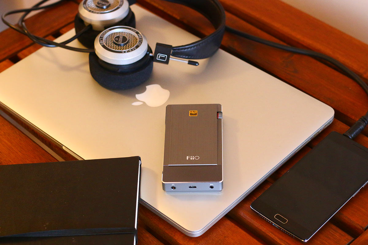 FiiO Q5 headphone amp | The Master Switch