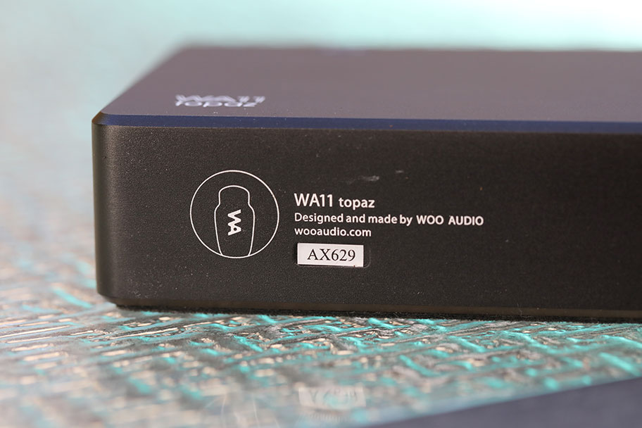 Woo Audio WA11 Topaz headphone amp serial number | The Master Switch