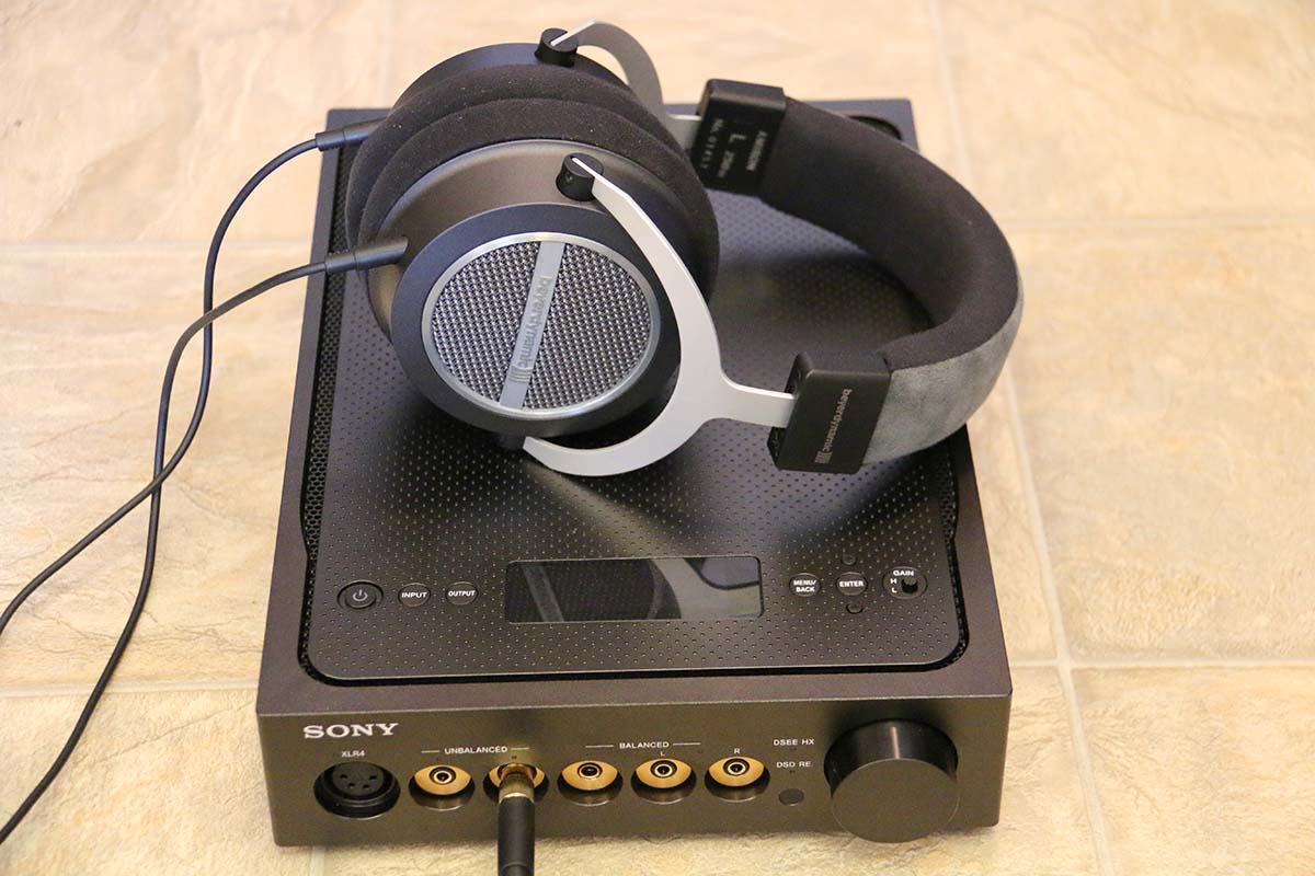 Sony TA-ZH1ES headphone amp | The Master Switch