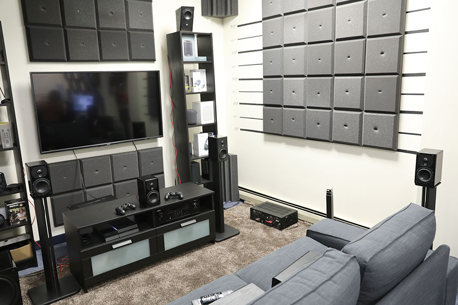 Home theater setup | The Master Switch