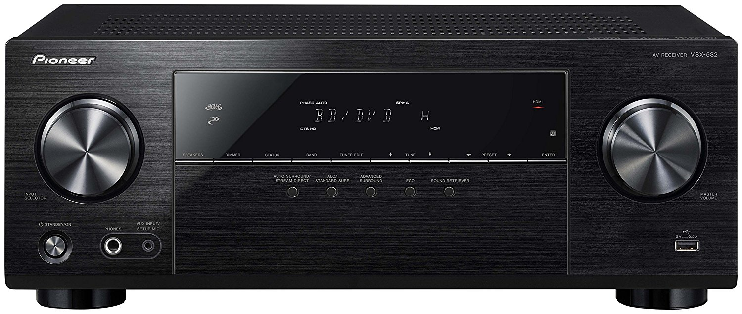 Best A/V Receivers of 2019   The Master Switch