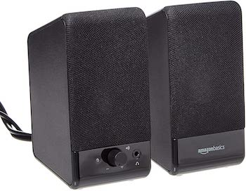AmazonBasics Computer Speakers