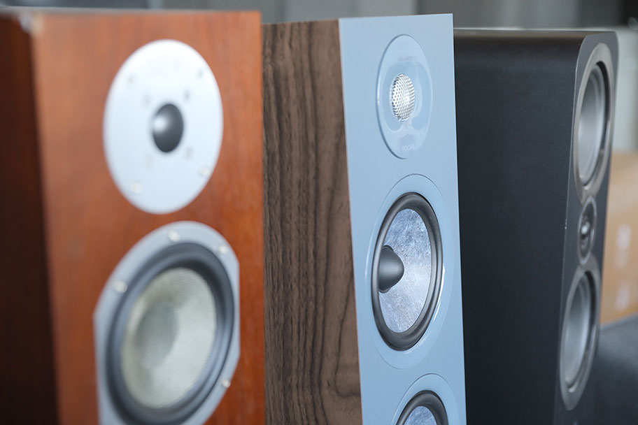 Various floorstanding speakers | The Master Switch