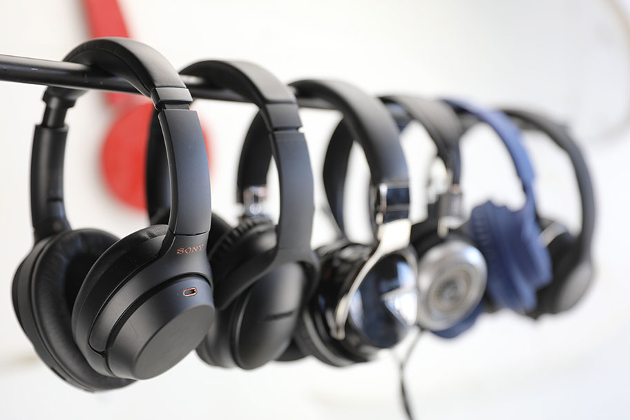 Various over-ear headphones | The Master Switch