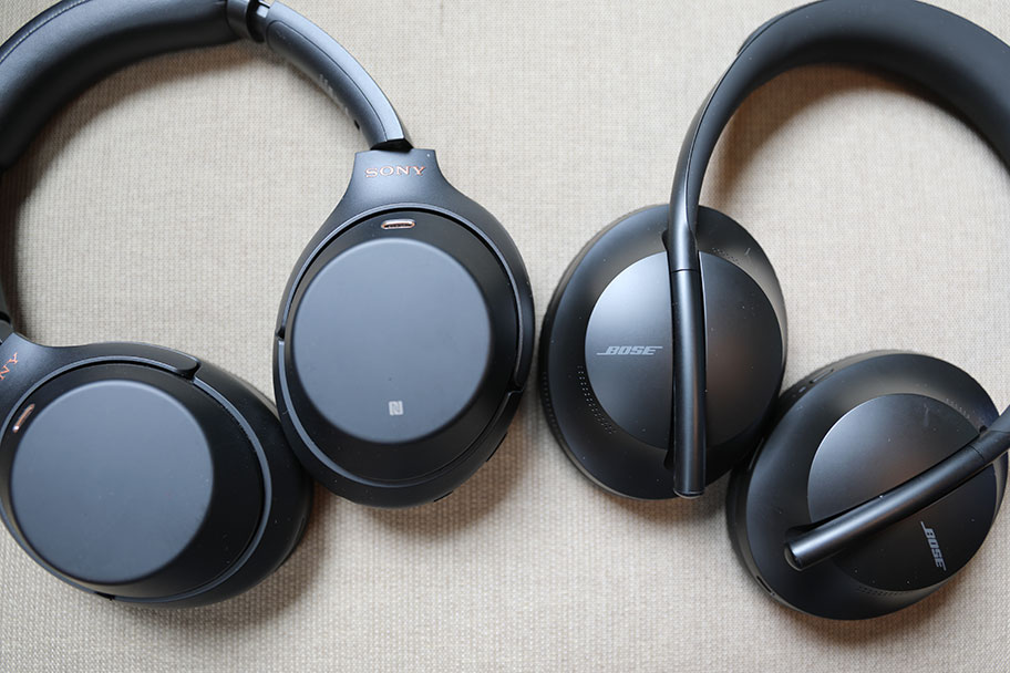 Bose Noise Cancelling Headphones 700 and Sony Wh-1000XM4 | The Master Switch