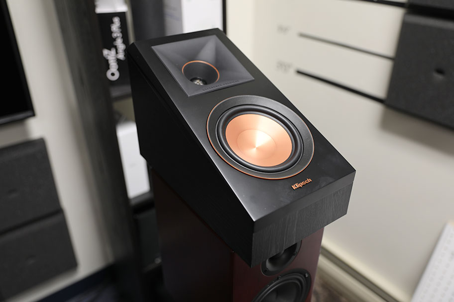 This Klipsch Atmos speaker will bounce height audio off the ceiling | The Master Switch