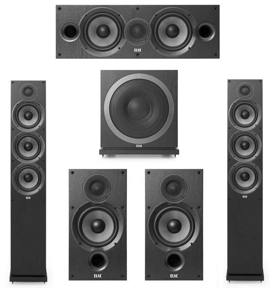 Best Overall Home Theater System 1 Elac Debut 2 0 5 830 Paired With Denon Avr S740h 479