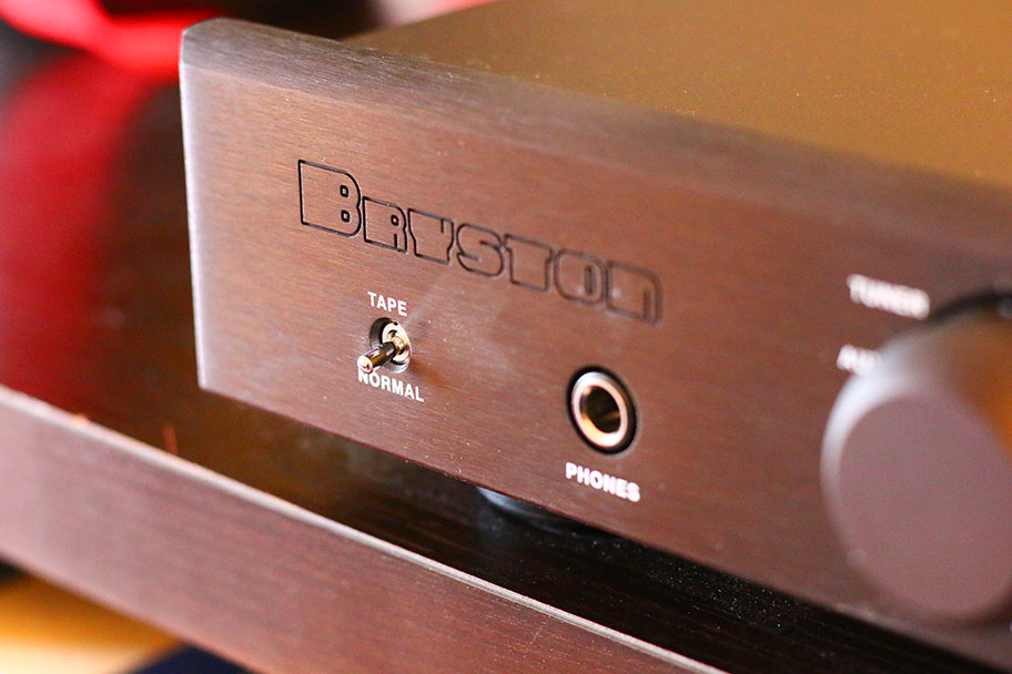 A close-up of the Bryston B60R | The Master Switch