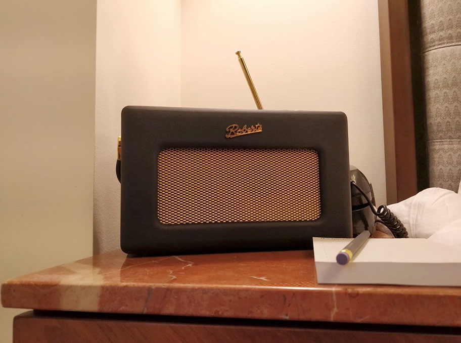 Some radios, like this Roberts, can be tough to find in the US | The Master Switch