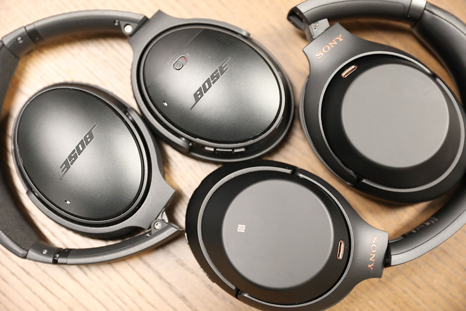 Both the Bose QuietComfort35 IIs and the Sony WH-1000XM3s have excellent noise-canceling | The Master Switch