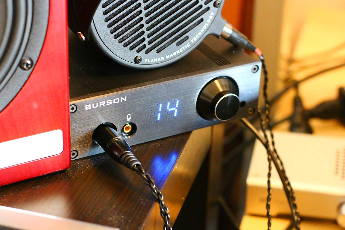 Review: Burson Audio PLAY Headphone Amp