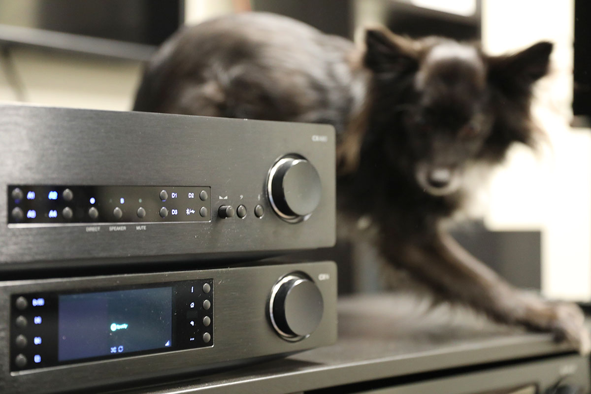 Cambridge Audio CXN (V2) & CXA80