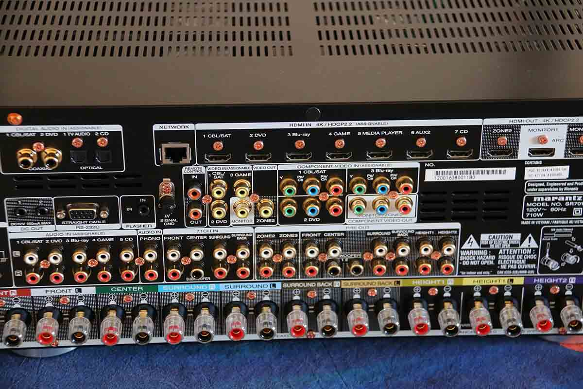 A V Receiver Setup Explained The Master Switch