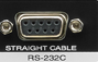 RS-232C Connector