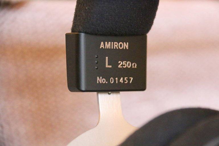 Beyerdynamic Amiron Home headphone impedance | The Master Switch