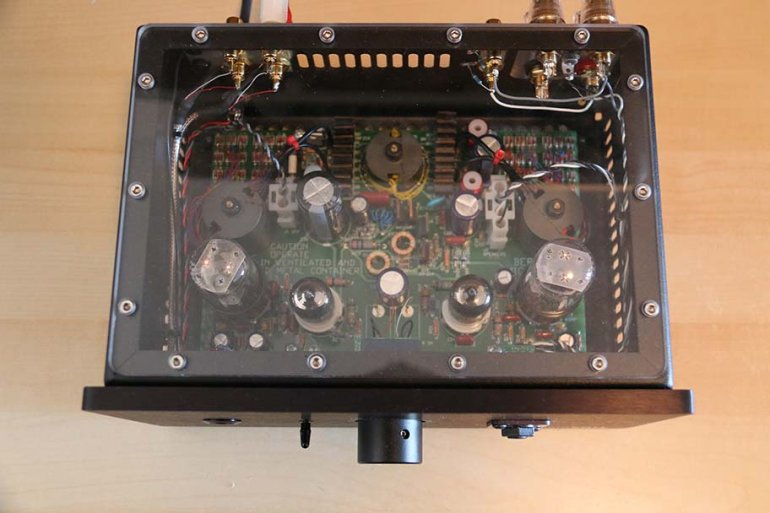 Linear Tube Audio MZ2-S | The Master Switch