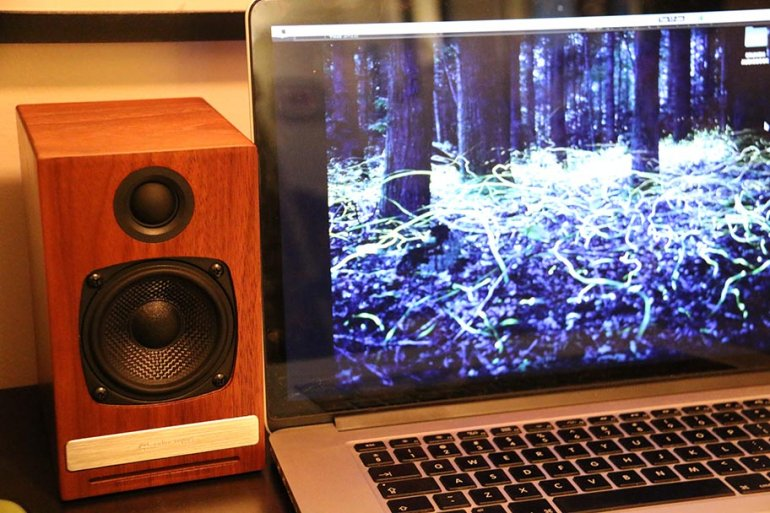 The Audioengine HD3s resemble standard bookshelf speakers, but they have full Bluetooth capabilities | The Master Switch