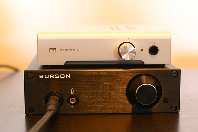 The Schiit Magni 3 is probably the only headphone amp that offers more value than the PLAY