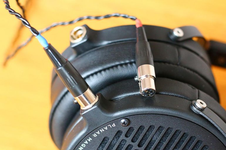 The LCD2Cs have an excellent braided cable | The Master Switch