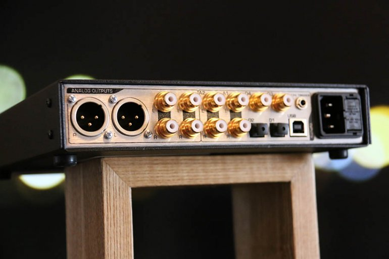 The back side of the DAC3, with its huge range of inputs | The Master Switch