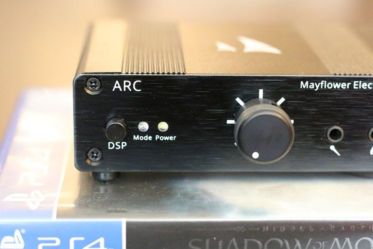 The ARC's DSP switch functions as a bass boost | The Master Switch