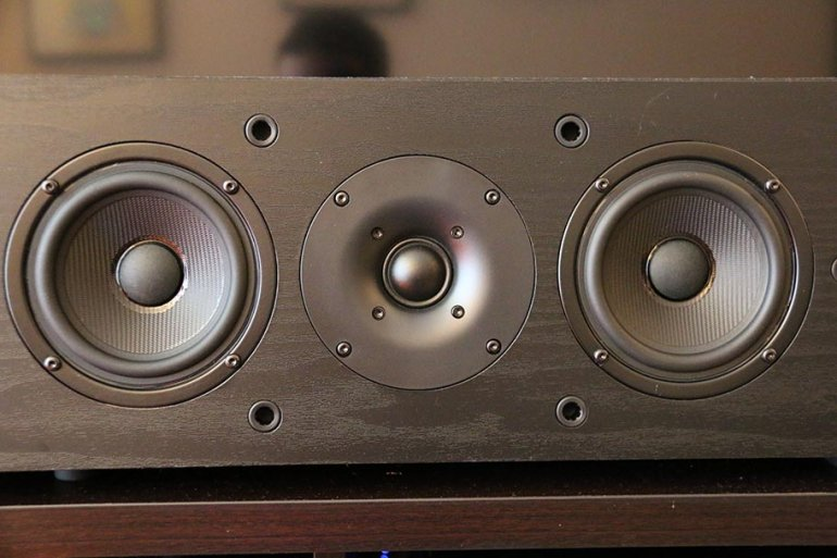 The Pioneer SP-PK22BS drivers - this is the center speaker | The Master Switch