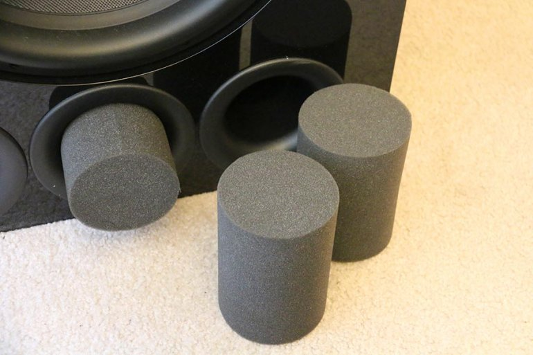 The foam inserts make it easy to change the sound | The Master Switch