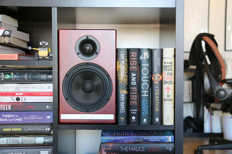 The very definition of bookshelf speakers... | The Master Switch