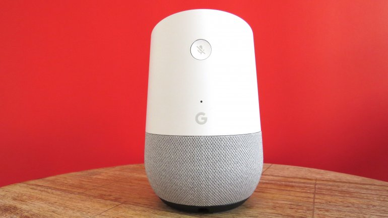The only button on the Google Home is the mic on/off button | The Master Switch
