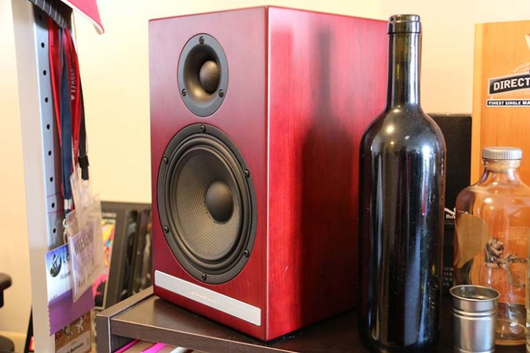 The Audioengine HDP6s we used in our blind test. Booze optional. | The Master Switch