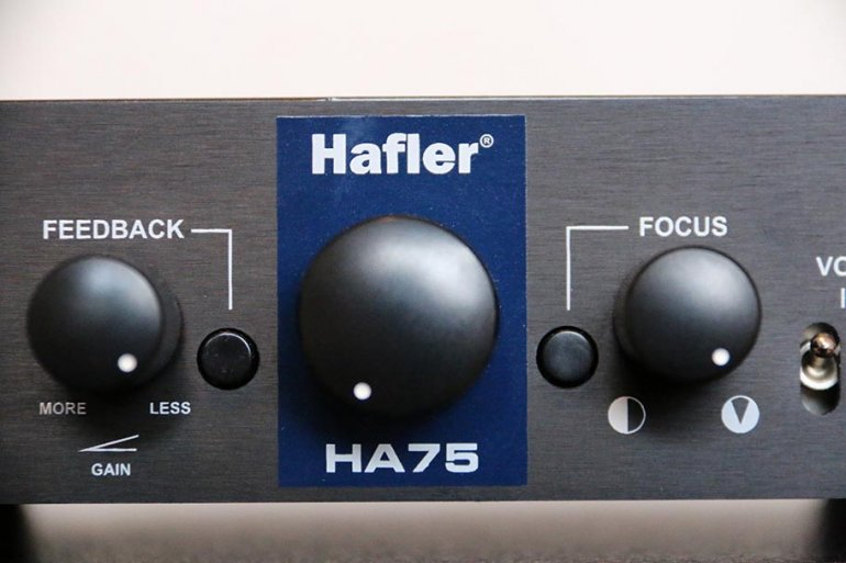 Hafler HA75 Controls | The Master Switch
