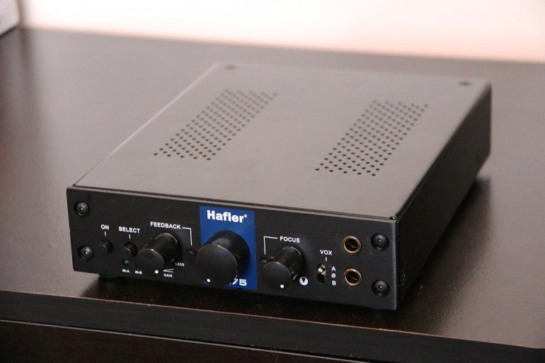 The Hafler HA75 | The Master Switch