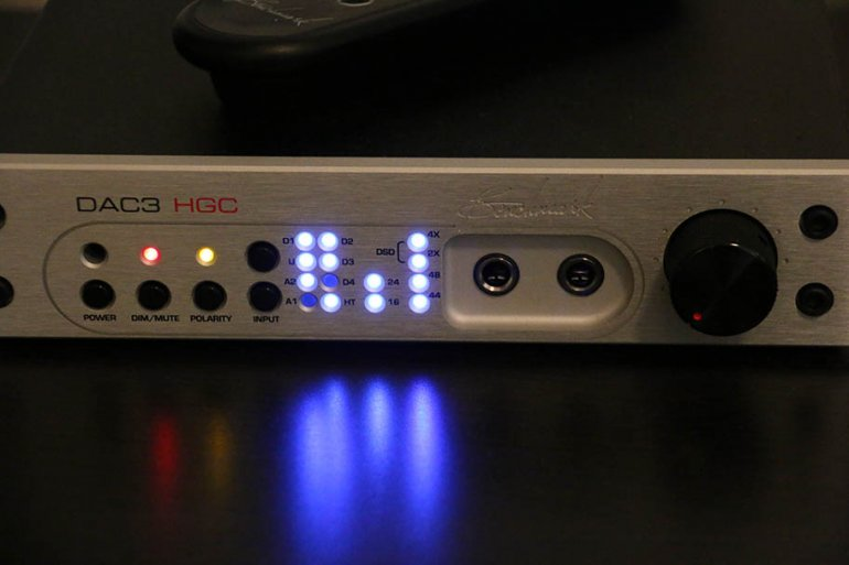 The DAC3 relies on a zillion LED lights to communicate | The Master Switch
